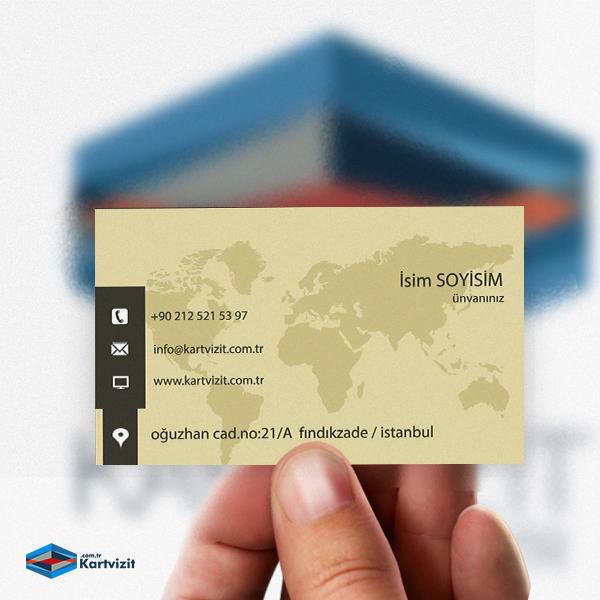 Global Danişmanlik kartvizit