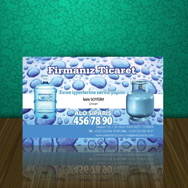 Su ve Meşrubat Kartvizit 5