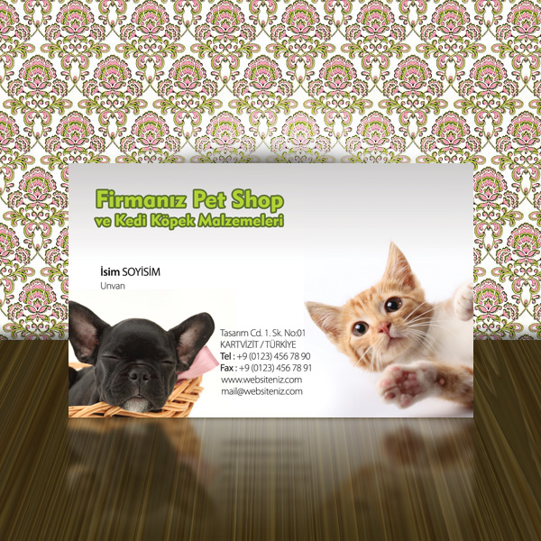 Pet Shop Kartvizit 10