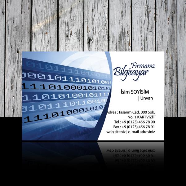 Bilgisayar kartvizit 20