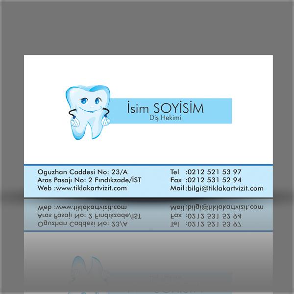 Diş hekimi doktor logo  kartviziti