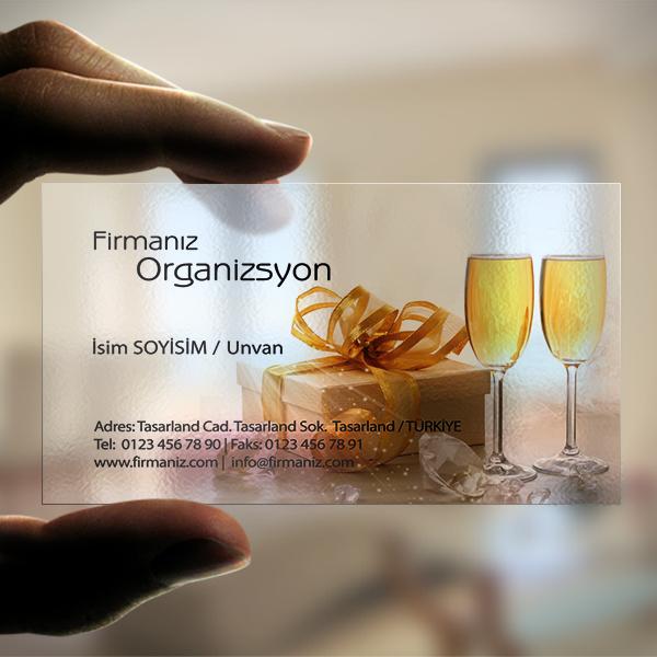 Organizasyon Şampanya Kadehi
