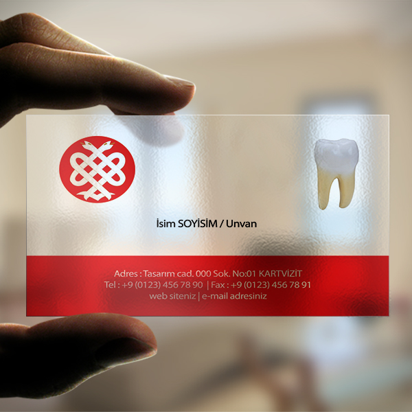 Diş Doktoru kırmızı