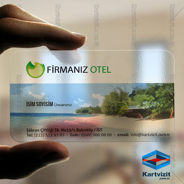 Turizim Kartvizit - Otel Kart