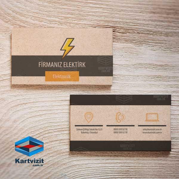 Kraft Kartvizit Elektronik