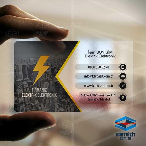 Elektrik Kraft Kart Tasarımı