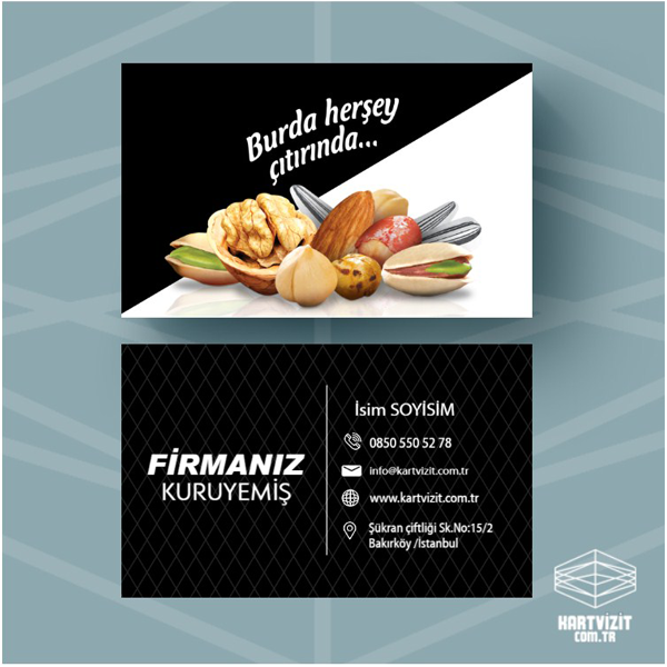 Gıda kartvizit 3