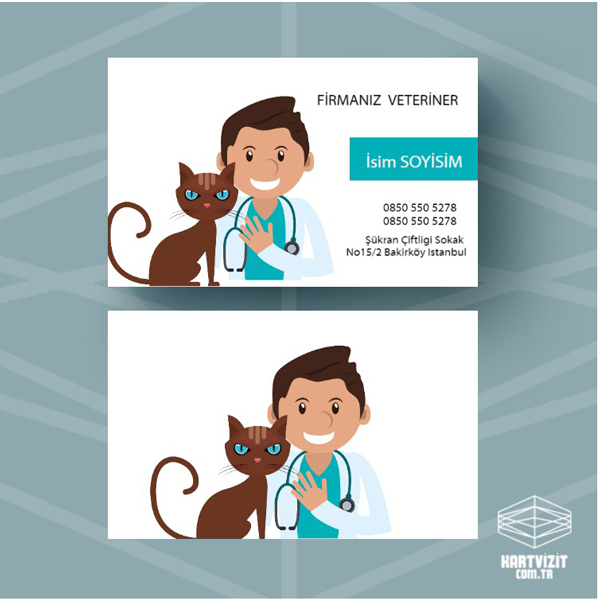 Pet Shop Kartvizit 10
