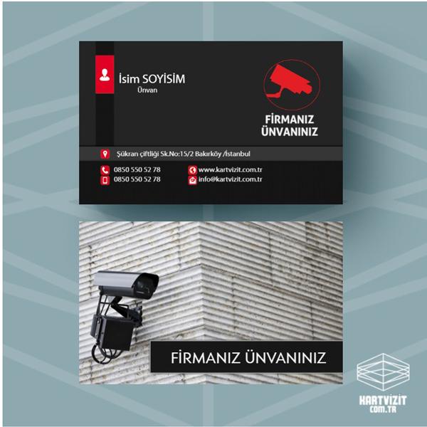 Güvenlik kartvizit 4