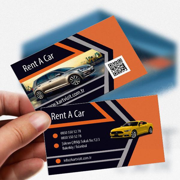 Orange Rentacar Kart
