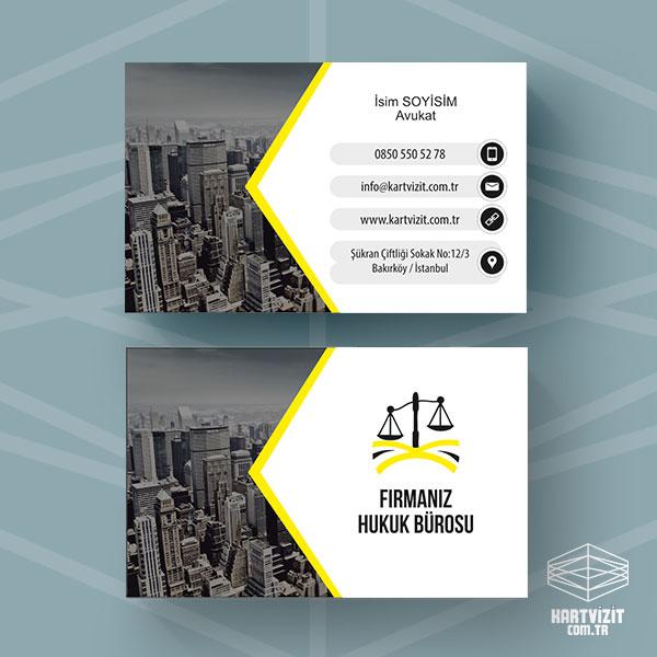Avukat Kartvizit Tasarımı Şehir