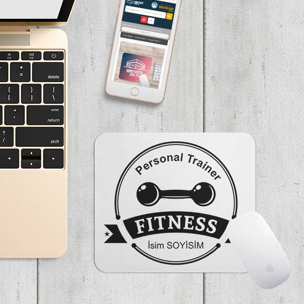 Personal Trainer Mouse Pad