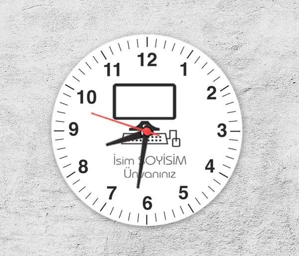 Bilgisayar İcon Saat Tasarımı