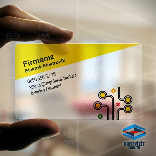 Sarı Elektronik Kartvizit