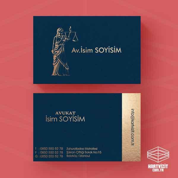 Av Kartvizit - Themis Altın Yaldız