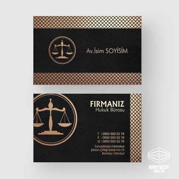 Avukat Kartvizit Petekler