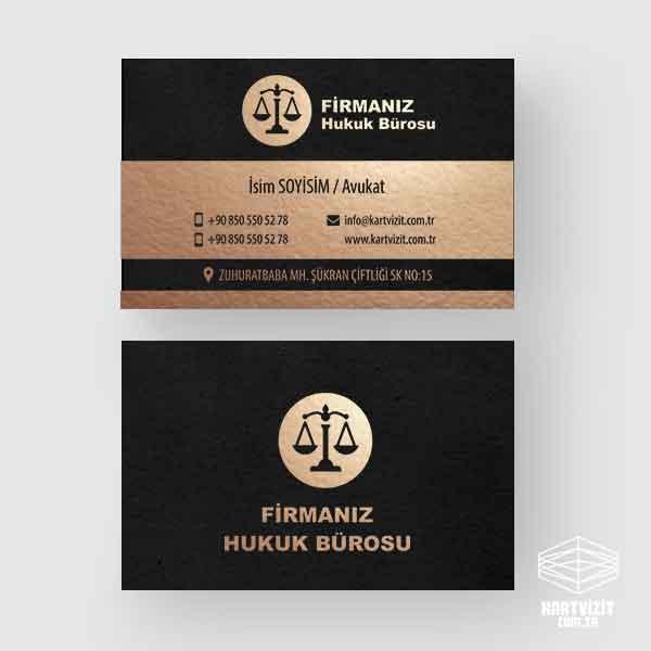 Beyaz Bant Avukat Kartvizit