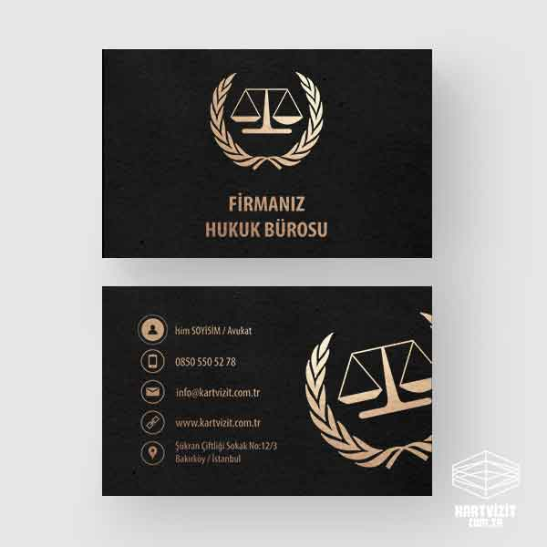 Avukat Vip Kartvizit